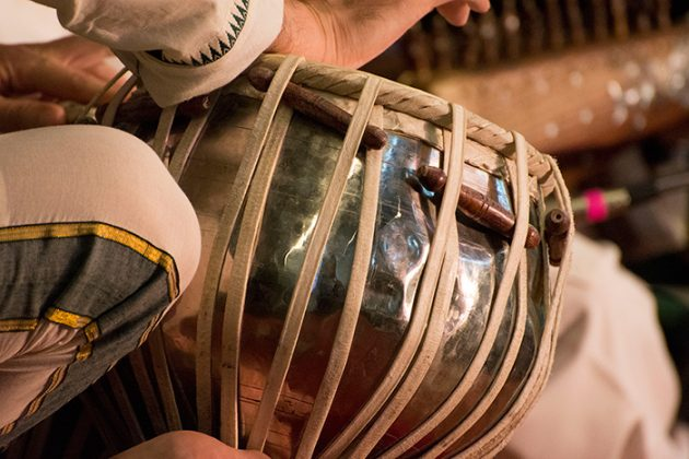 Salar Nader is a master of the tablas