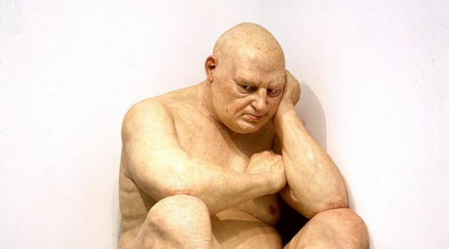 "Ron Mueck, ""Untitled (Big Man)"" (2000); Smithsonian's Hirshhorn Museum and Sculpture Garden"