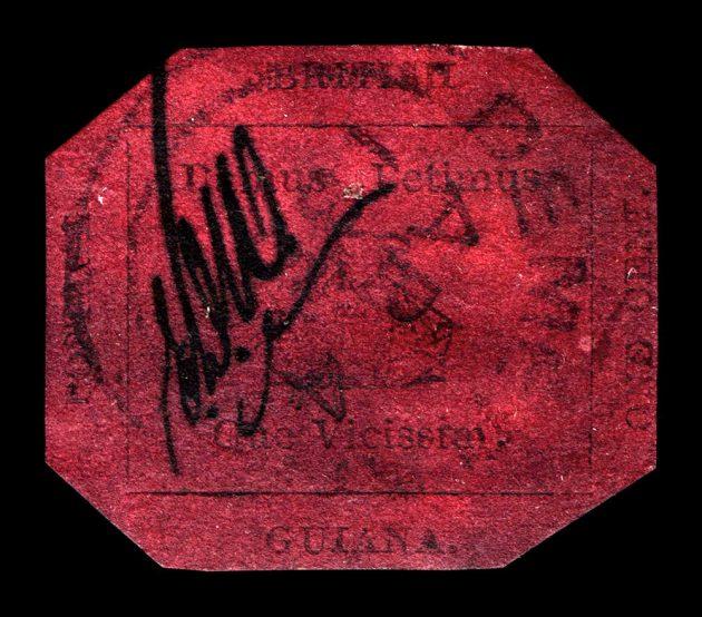 Magenta stamp obverse