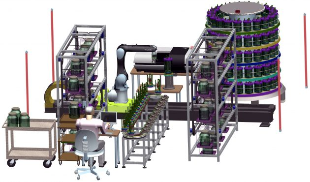 high-speed 3D scanning system