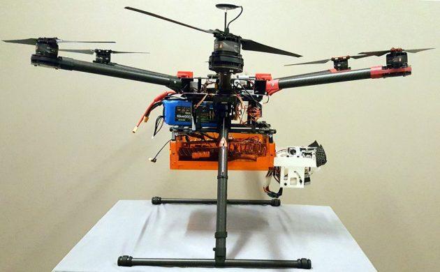 autonomous sonar drone