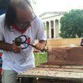 Master stone carver Bernat Vidal