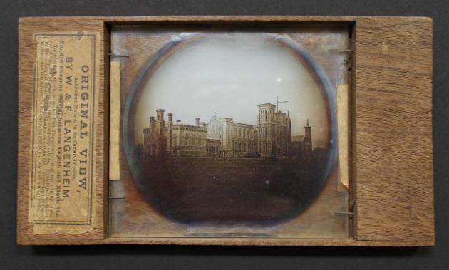 Lantern slide photograph