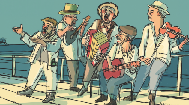 "Animated Music Video: ""Ich A Mazeldicker Yid"" by The Brothers Nazaroff"