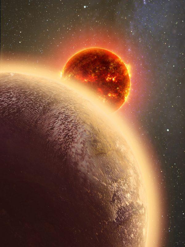 rocky exoplanet