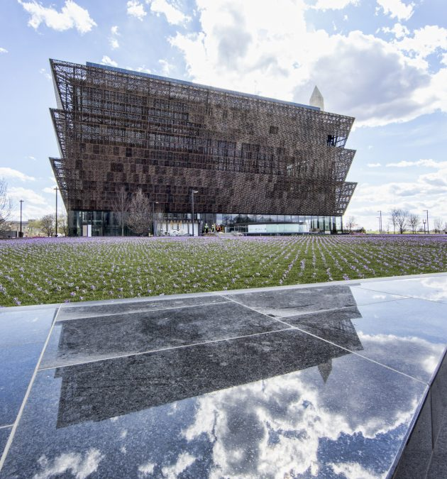 National Museum of African American History and Culture; (NMAAHC) construction site - Site Tour on March 2, 2016 Congress and Railway Industry