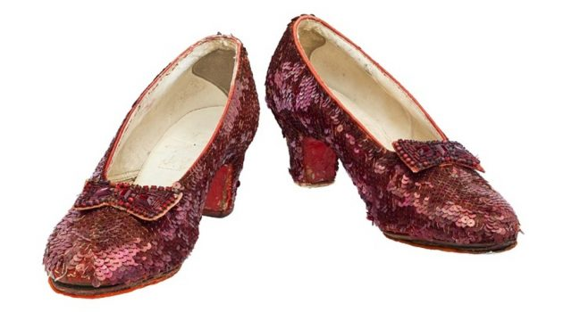 Crowdfunding campaign to restore Ruby Slippers surpasses mark