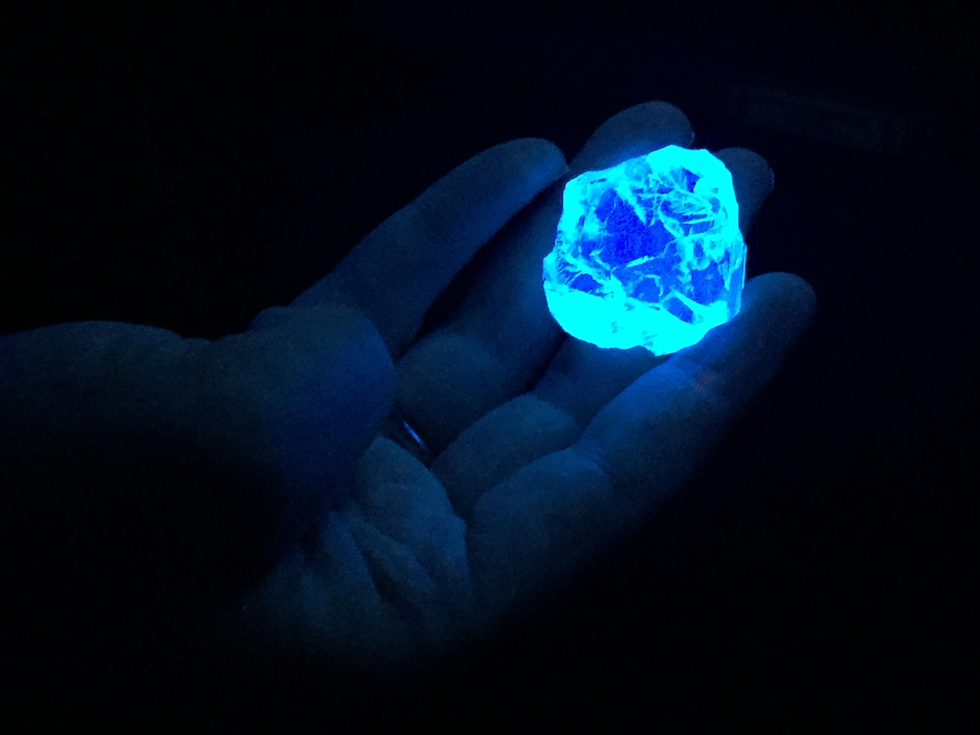 Colossal diamond's eerie glow earns it a fiery name