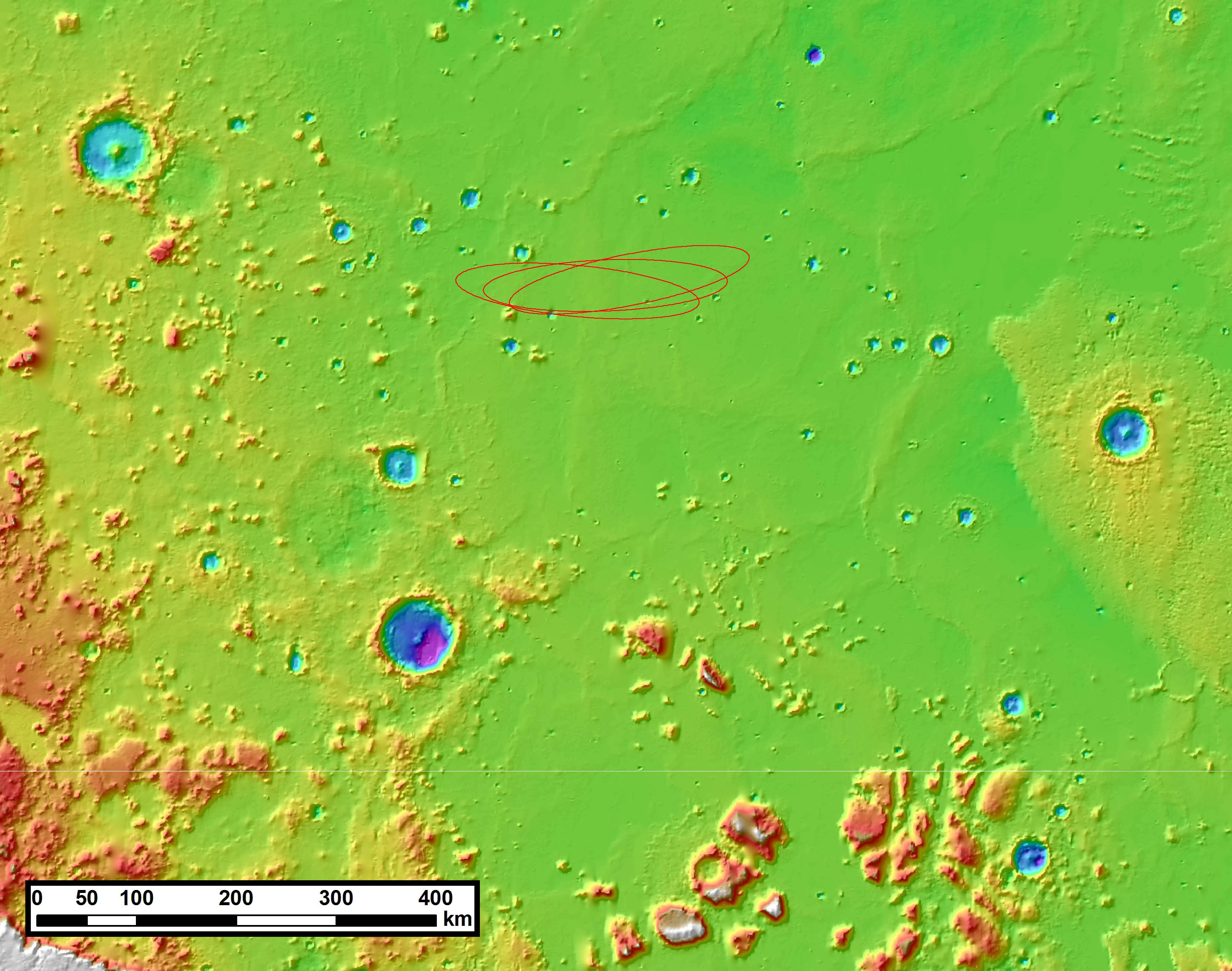 mars insight landing map - photo #5