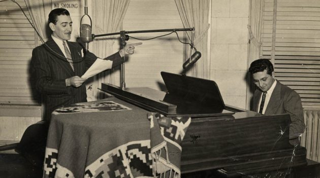"""Renowned entertainer Leonardo """"Lalo"""" Garcia Astol was a Tejano performer who  worked as an announcer at KCOR, creating variety shows and radio novellas for the station. (Courtesy of the National Museum of American History)"""