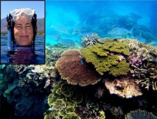 Mary Hagedorn and Coral Reef