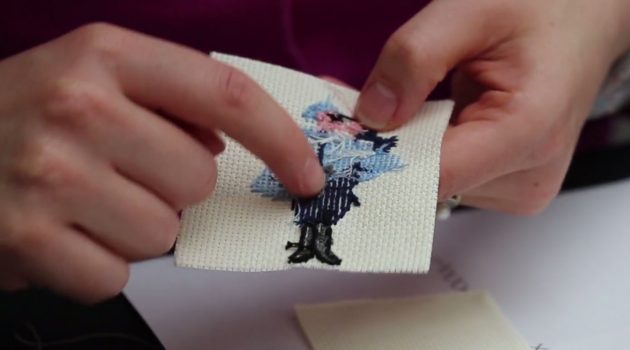 Handi-hour crafting – Cross Stitch Embroidery