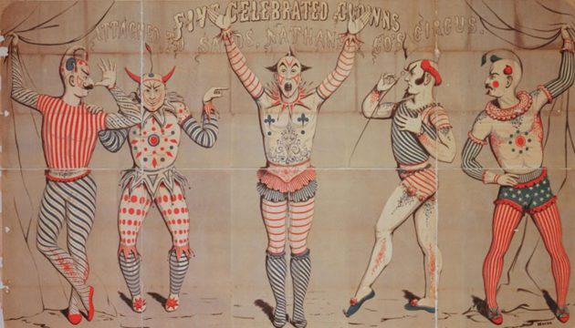 5 clowns