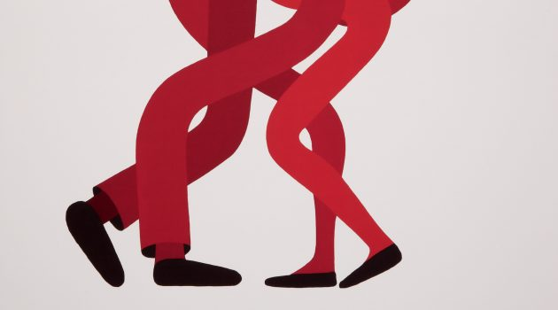 "Poster, ""Okay, Bye,"" 2015; designed by Geoff McFetridge (Canadian, b. 1971); offset lithograph  on white paper; 91.4 by 61.9 cm (36 by 24 3/8 in.); gift of Geoff McFetridge, 2017-25-1"