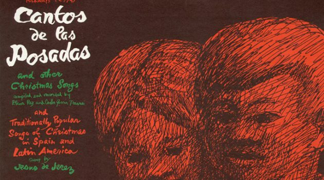"Smithsonian Folkway Recordings album cover ""Cantos de las Posadas and Other Christmas Songs,"" released 1963. (Courtesy of Smithsonian Folkways)"
