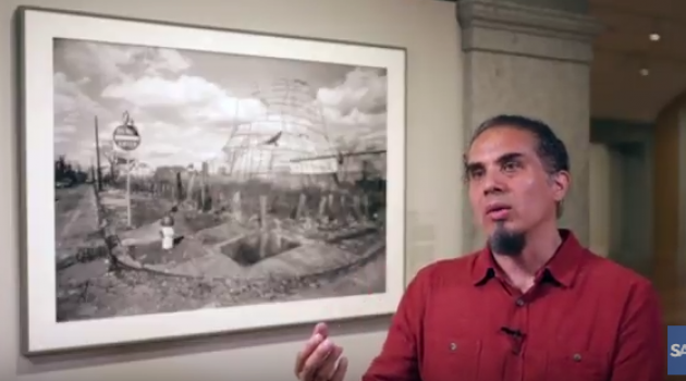 "Manuel Acevedo on ""Altered Sites #7"" Smithsonian American Art Museum"