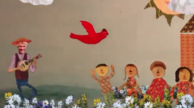 "Kids' video: ""Red Bird"" – Dan Zanes & Friends"