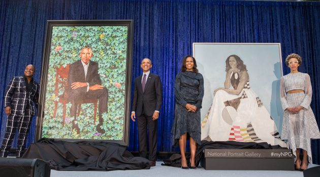Portrait unveiling of former President Barack Obama and former First Lady Michelle Obama at the National Portrait Gallery in Washington, D.C., Feb. 12, 2018. (Photo by Pete Souza)