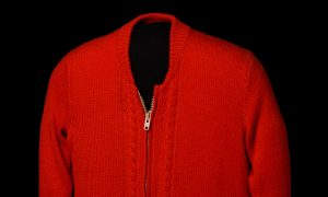 Mister Rogers' sweater, 1970s; Smithsonian's National Museum of American History