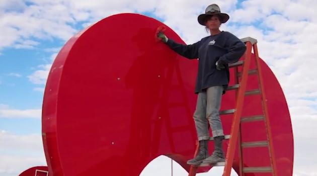 Burning Man's  Mr. and Mrs. Ferguson