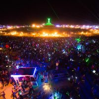 Burning Man participants 2013 (Photo by Neil Girling)