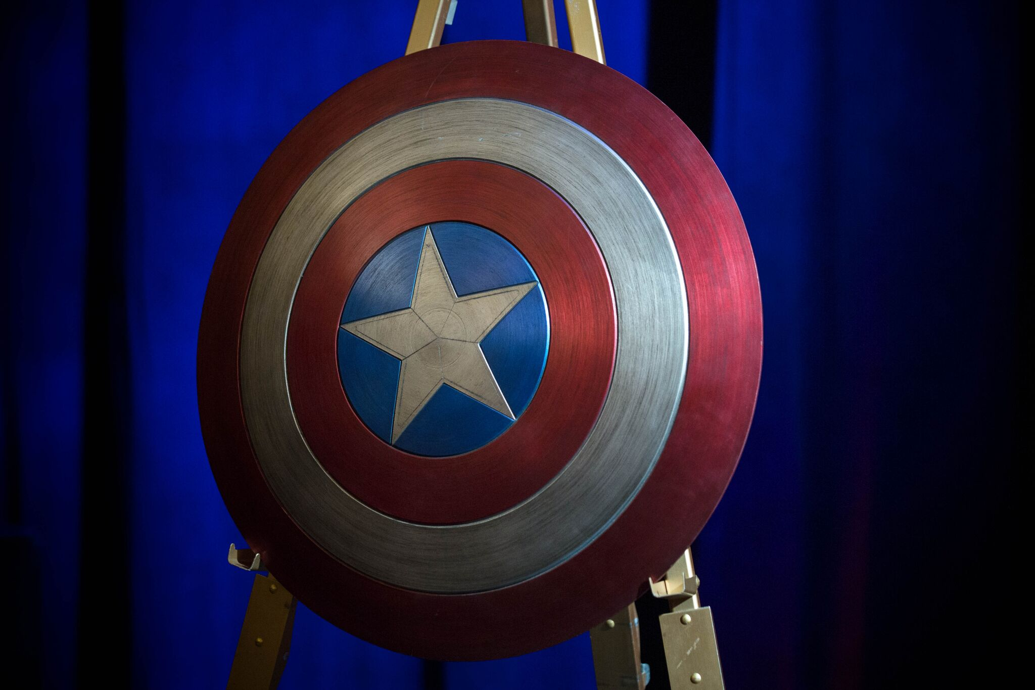 """Get this man a shield!"" 