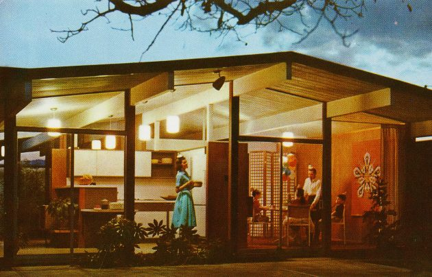 1960 model home
