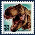 Jurassic Park stamp
