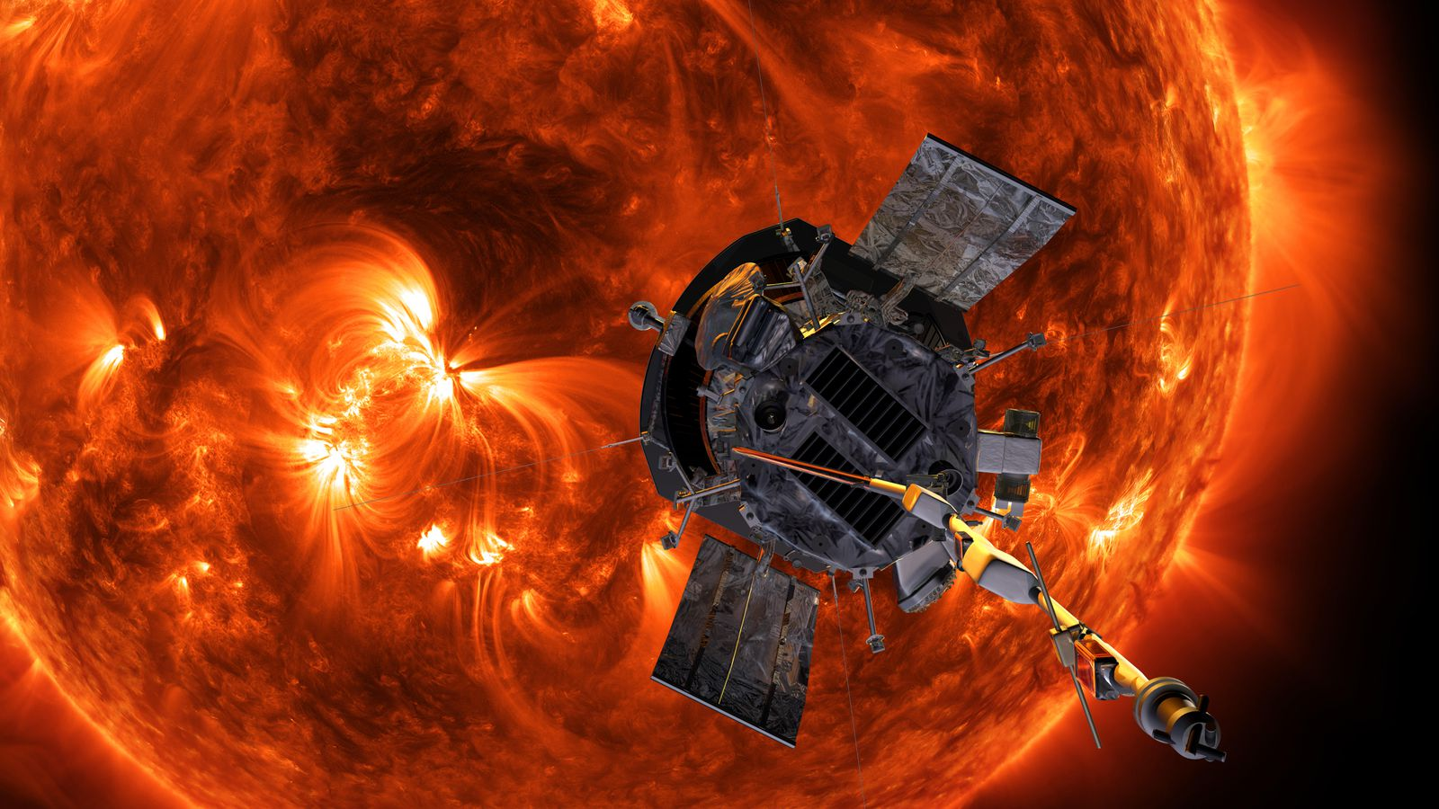 f811cf15 A solar probe is on its way to touch the sun. The Smithsonian built the  tool that will measure the sun without melting